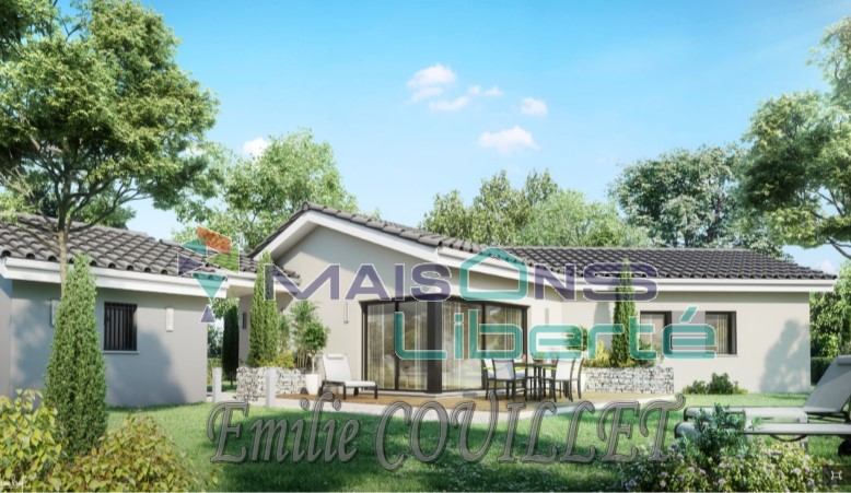 Maisons + Terrains du constructeur MAISONS LIBERTE - BOURG LES VALENCE • 100 m² • ROCHE SAINT SECRET BECONNE