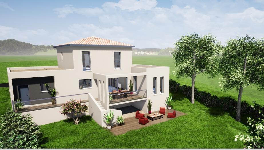 Maisons + Terrains du constructeur MAISONS LIBERTE - BOURG LES VALENCE • 111 m² • CHATEAUDOUBLE