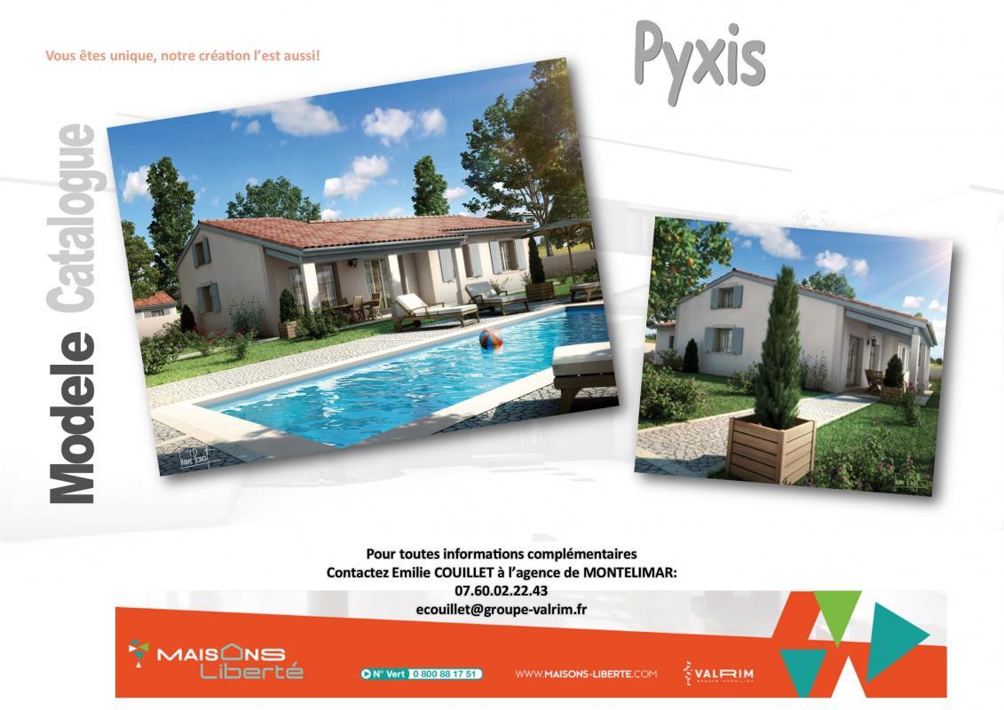 Maisons + Terrains du constructeur MAISONS LIBERTE - BOURG LES VALENCE • 100 m² • ROCHEGUDE