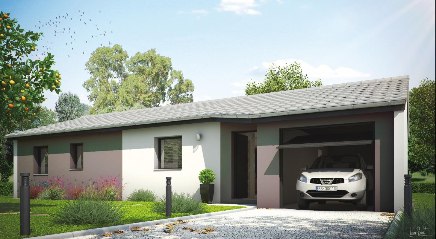 Maisons + Terrains du constructeur MAISONS LIBERTE - BOURG LES VALENCE • JAILLANS