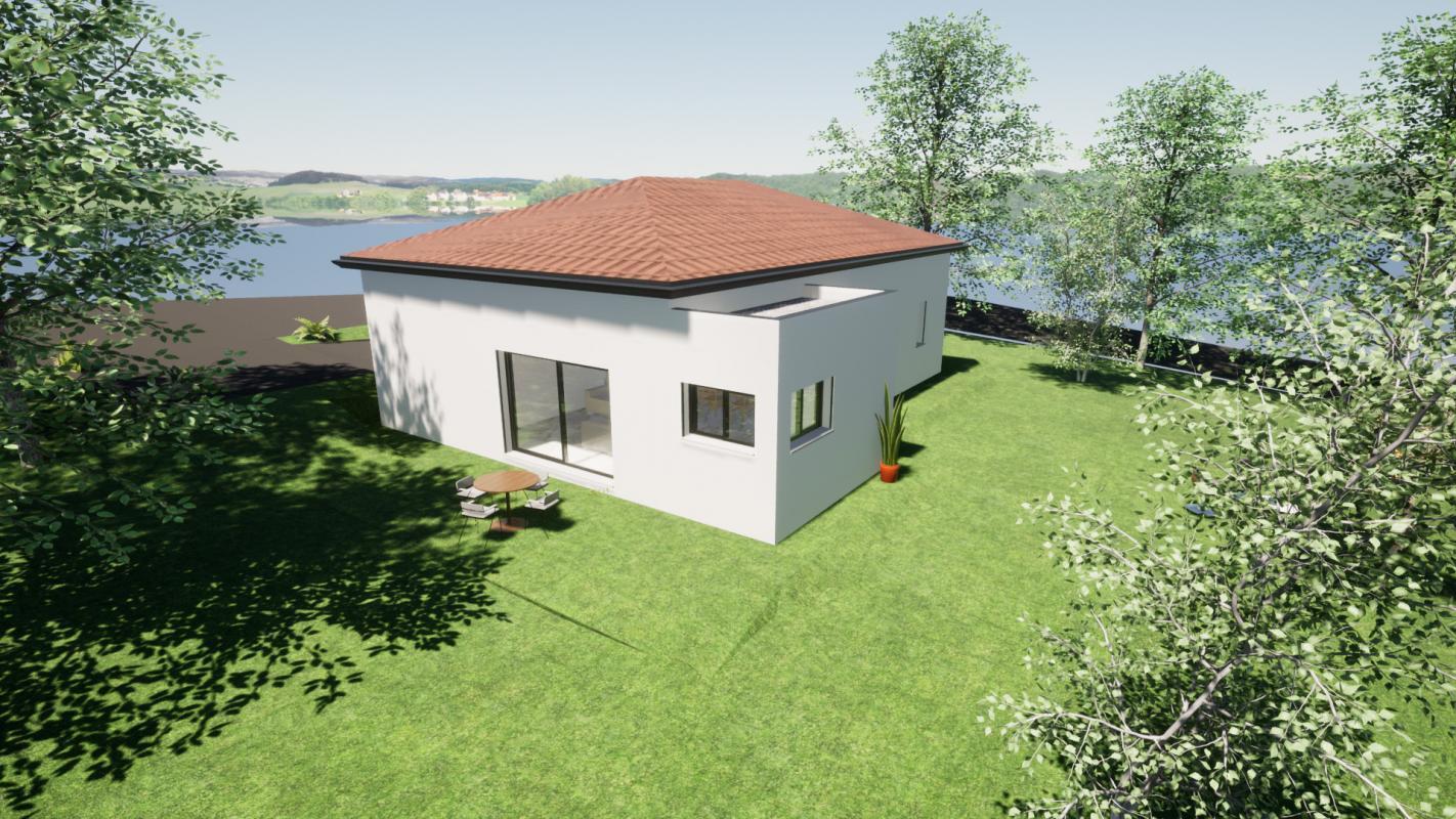 Maisons + Terrains du constructeur MAISONS LIBERTE - BOURG LES VALENCE • 107 m² • JAILLANS