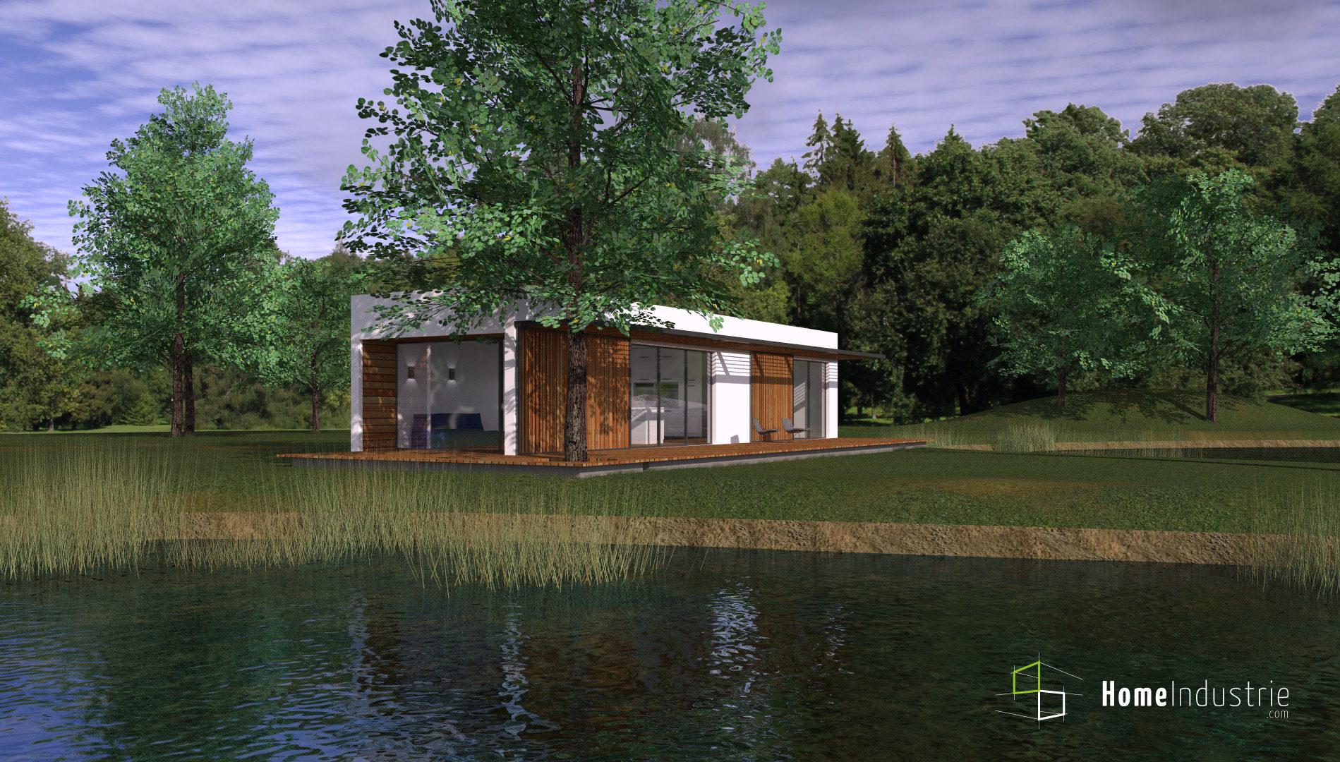 Maisons du constructeur HESTIA HOME CONCEPT • 42 m² • TECOU
