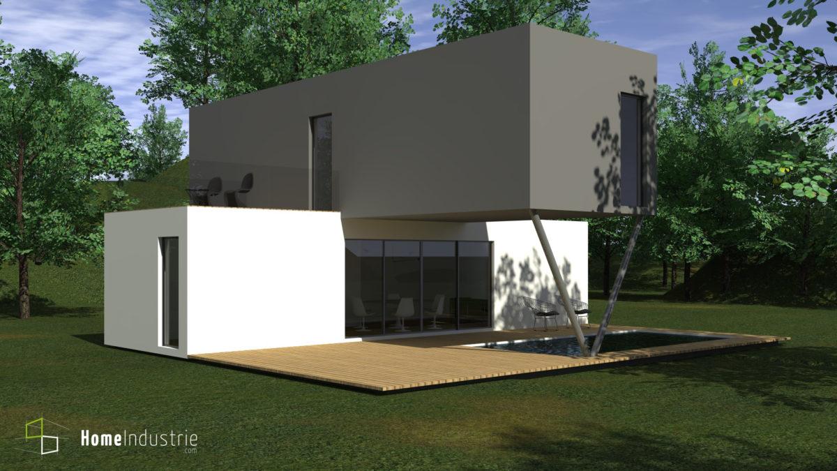 Maisons du constructeur HESTIA HOME CONCEPT • 89 m² • TECOU