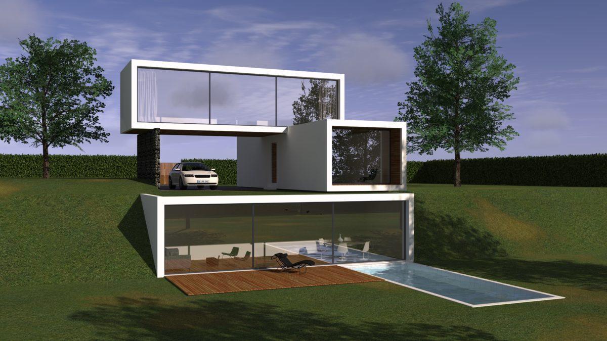 Maisons du constructeur HESTIA HOME CONCEPT • 127 m² • VIGOULET AUZIL
