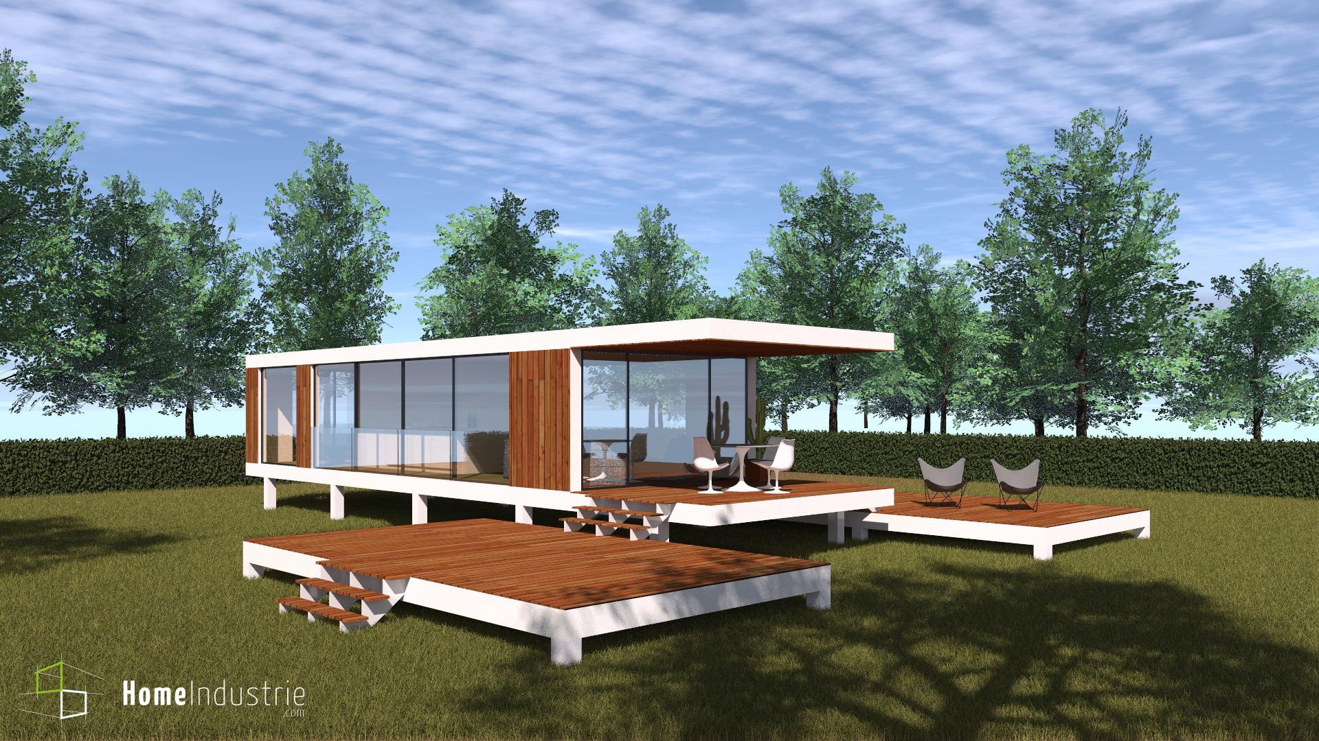 Maisons du constructeur HESTIA HOME CONCEPT • 58 m² • CASTANET TOLOSAN