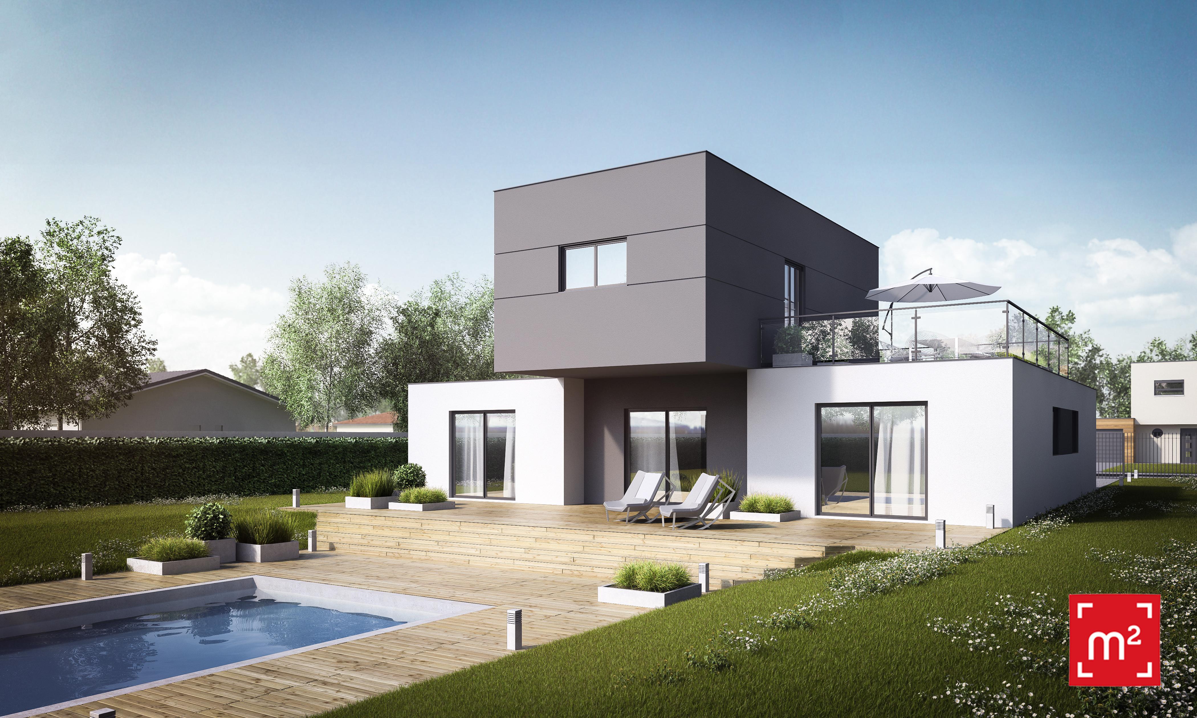 Maisons du constructeur HESTIA HOME CONCEPT • 127 m² • LAUNAGUET