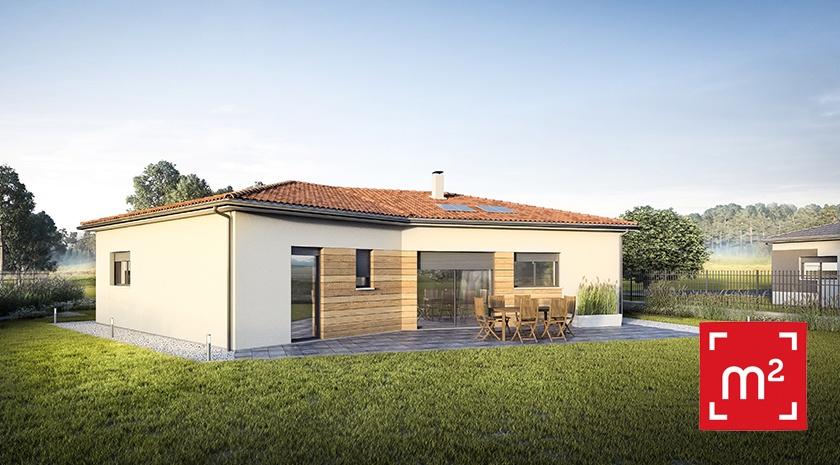 Maisons + Terrains du constructeur HESTIA HOME CONCEPT • 90 m² • SAINT LYS