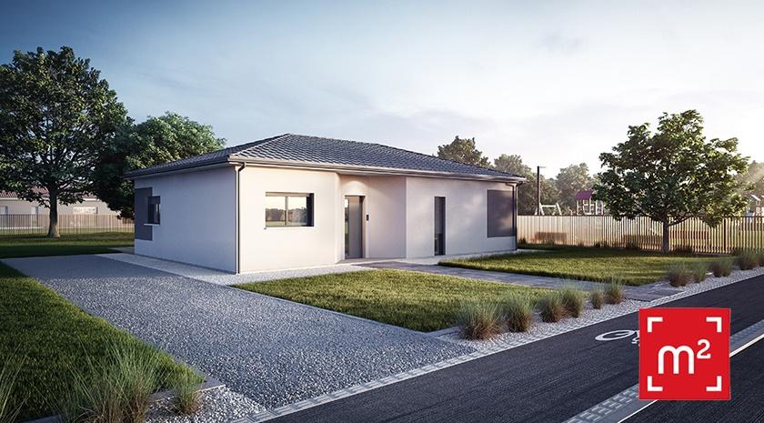 Maisons + Terrains du constructeur HESTIA HOME CONCEPT • 100 m² • VENERQUE