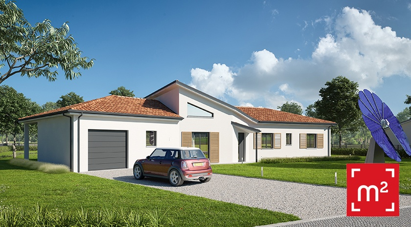 Maisons + Terrains du constructeur HESTIA HOME CONCEPT • 146 m² • AUSSONNE