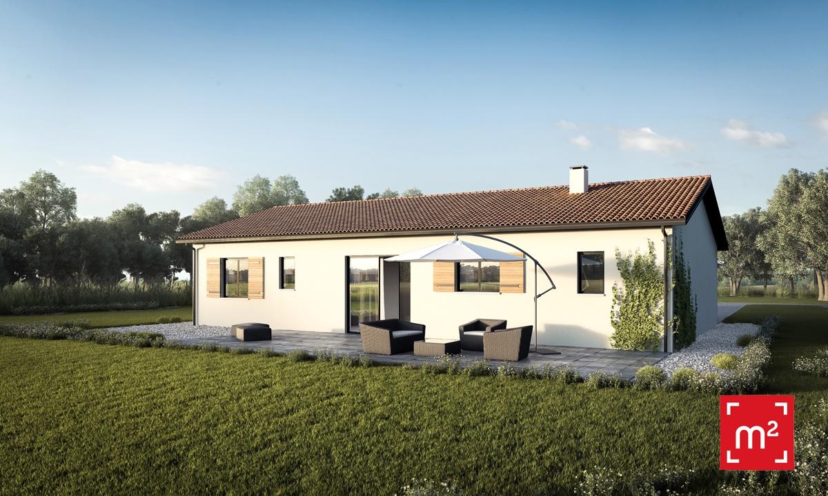 Maisons + Terrains du constructeur HESTIA HOME CONCEPT • 70 m² • MONTAIGUT SUR SAVE