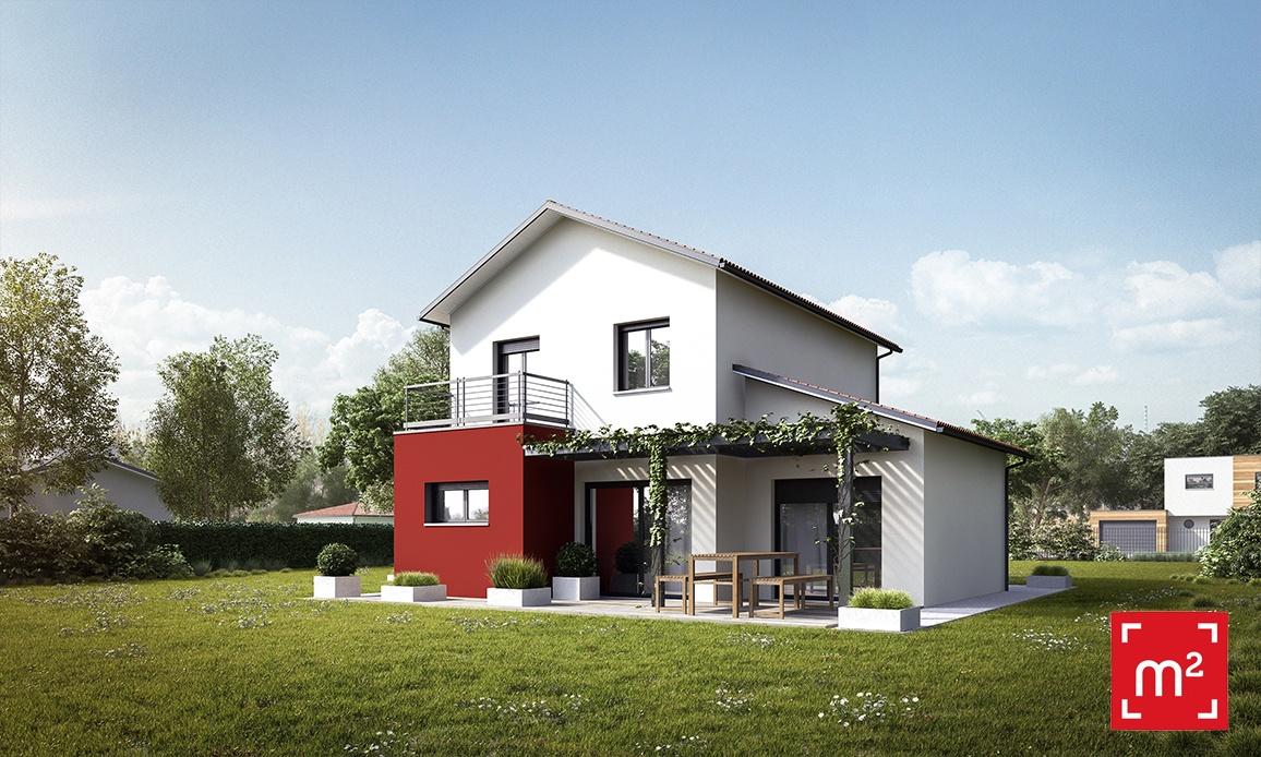Maisons + Terrains du constructeur HESTIA HOME CONCEPT • 100 m² • MONDONVILLE