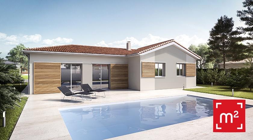 Maisons + Terrains du constructeur HESTIA HOME CONCEPT • 100 m² • LASSERRE