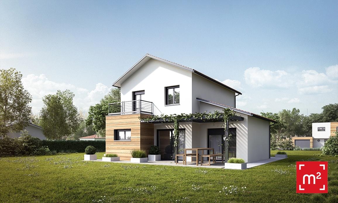 Maisons + Terrains du constructeur HESTIA HOME CONCEPT • 120 m² • PINS JUSTARET