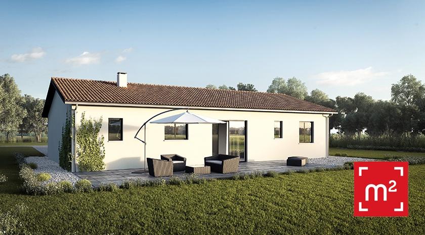 Maisons + Terrains du constructeur HESTIA HOME CONCEPT • 100 m² • NOE