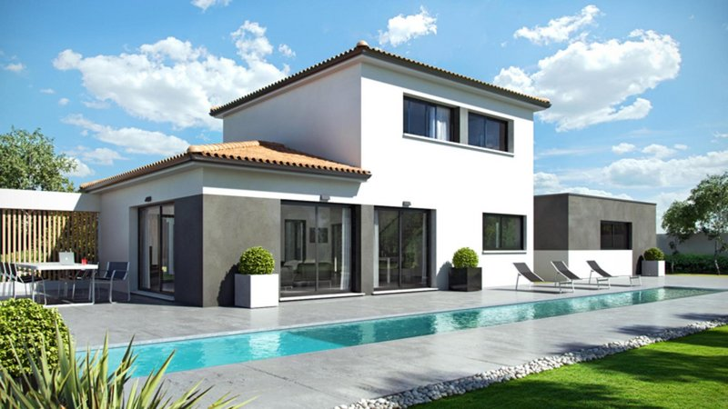 Maisons du constructeur CELIA CREATION - BLAGNAC • 130 m² • SAINT PAUL SUR SAVE