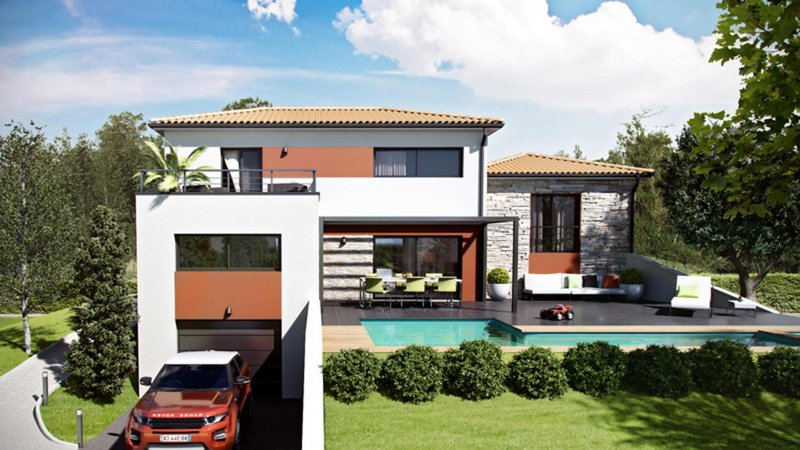 Maisons du constructeur CELIA CREATION - MURET • 120 m² • EAUNES