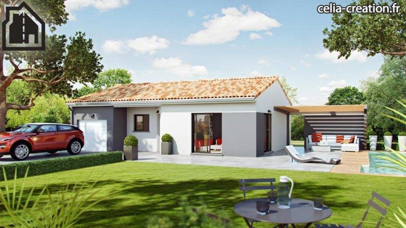 Maisons du constructeur CELIA CREATION - MURET • 91 m² • EAUNES
