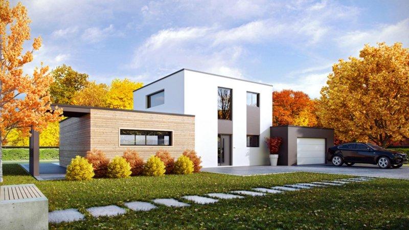 Maisons du constructeur CELIA CREATION - MURET • 135 m² • EAUNES