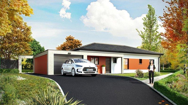 Maisons du constructeur CELIA CREATION - MURET • 110 m² • EAUNES