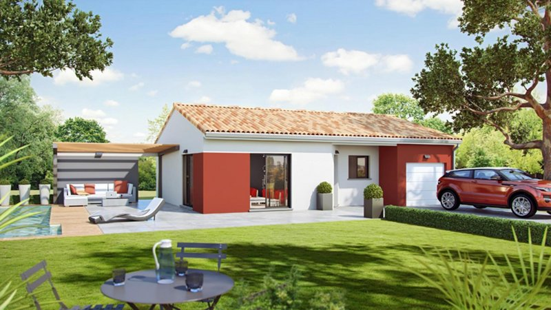 Maisons du constructeur CELIA CREATION - MURET • 91 m² • LABASTIDETTE