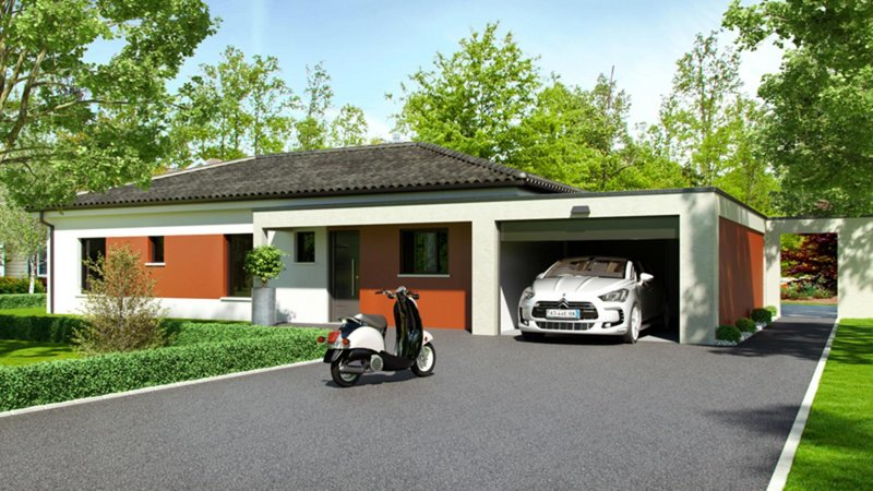 Maisons du constructeur CELIA CREATION - MURET • 110 m² • LABASTIDETTE