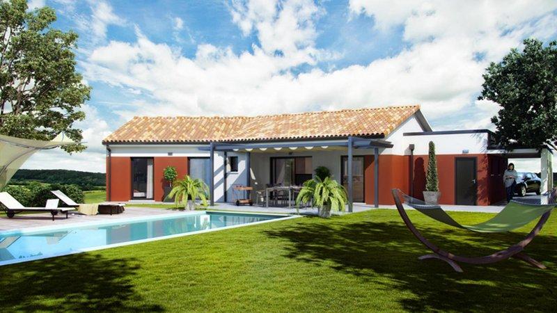 Maisons du constructeur CELIA CREATION - MURET • 120 m² • AUTERIVE