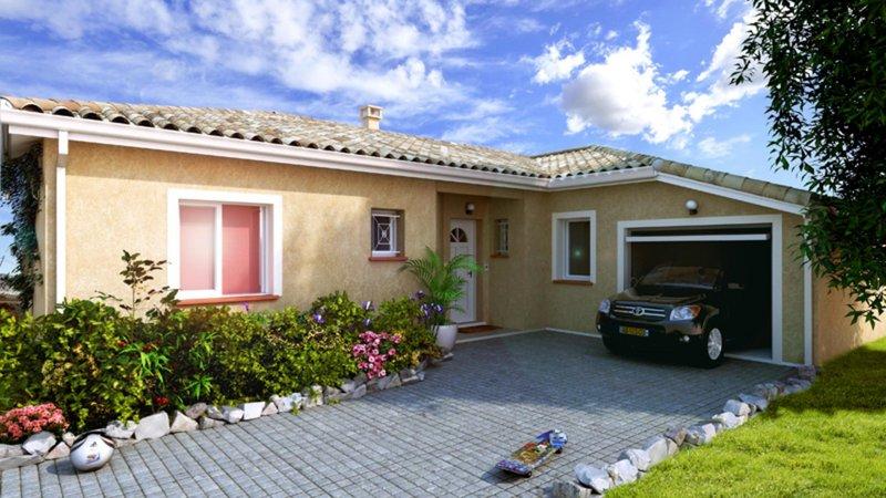 Maisons du constructeur CELIA CREATION - MURET • 100 m² • SAINT CLAR DE RIVIERE