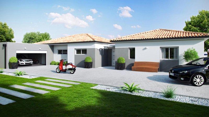 Maisons du constructeur CELIA CREATION - ALBI • 120 m² • LESCURE D'ALBIGEOIS