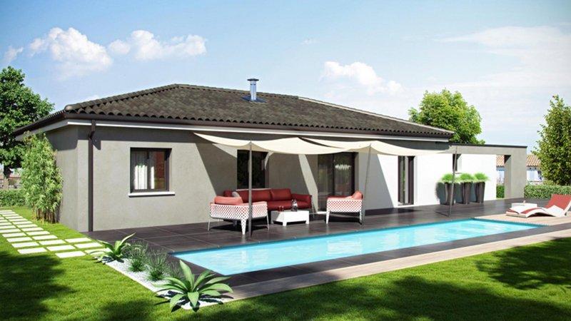 Maisons du constructeur CELIA CREATION - ALBI • 100 m² • FREJAIROLLES