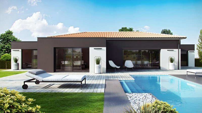 Maisons du constructeur CELIA CREATION - ALBI • 100 m² • ALBI
