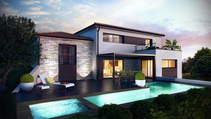 Maisons du constructeur CELIA CREATION - ALBI • 120 m² • PUYGOUZON