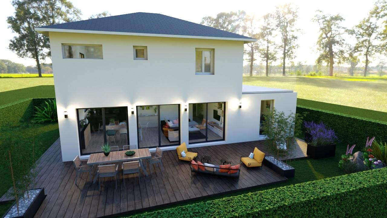 Maisons du constructeur MAISONS LOGELIS AGENCE DE GRENOBLE • 115 m² • CHARNECLES
