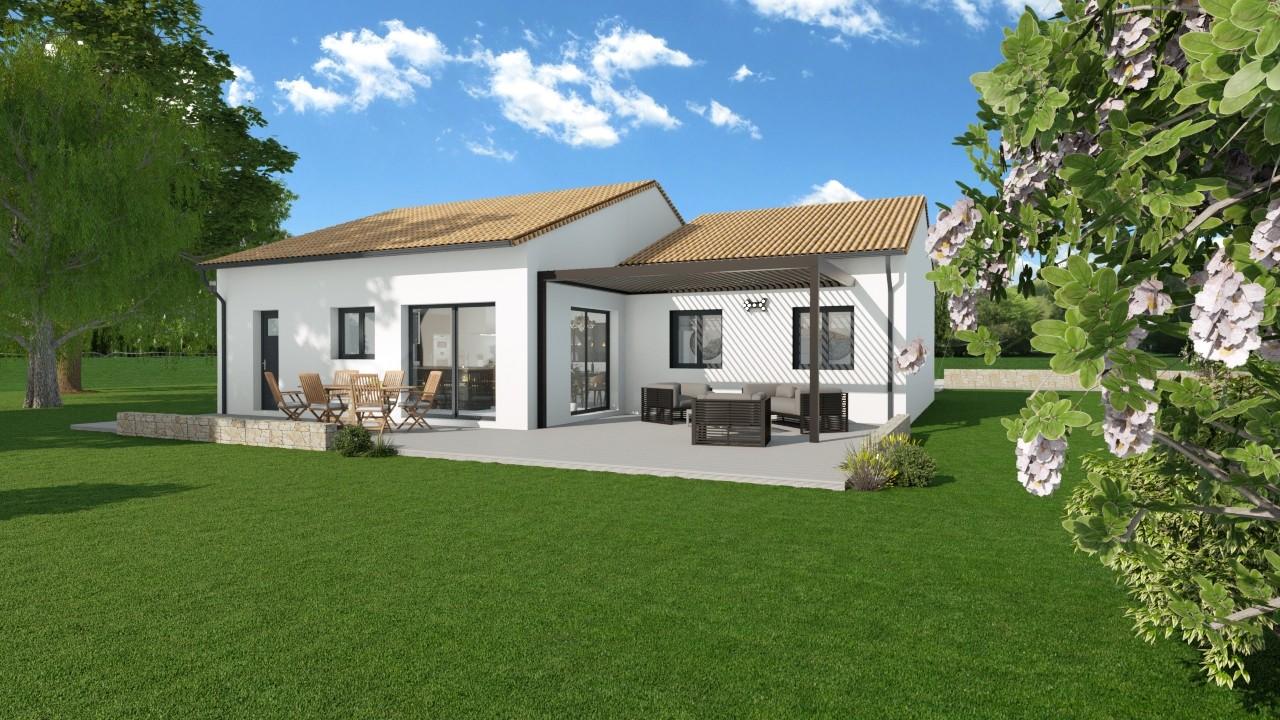 Maisons du constructeur MAISONS LOGELIS AGENCE DE GRENOBLE • 100 m² • SAINT MARCELLIN