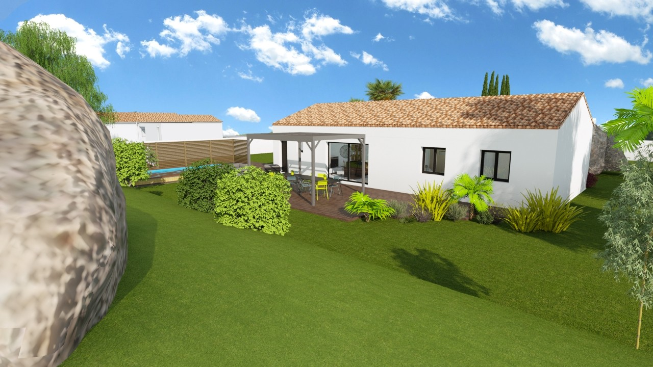 Maisons du constructeur MAISONS LOGELIS AGENCE DE GRENOBLE • 88 m² • SAINT HILAIRE DU ROSIER