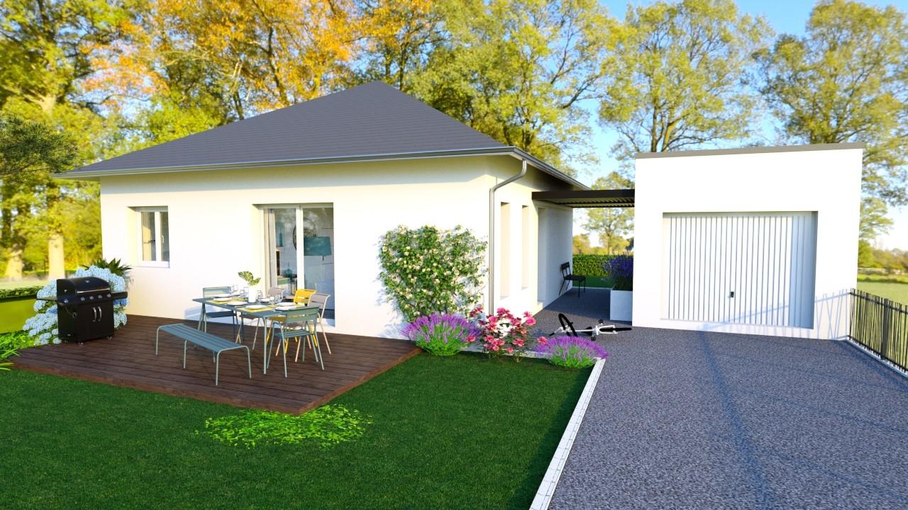 Maisons du constructeur MAISONS LOGELIS AGENCE DE GRENOBLE • 88 m² • IZERON