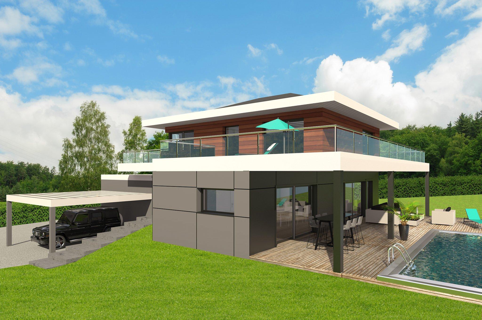 Maisons du constructeur CI HABITAT • 110 m² • ETAUX