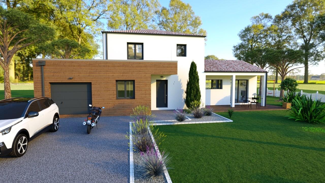 Maisons du constructeur MAISONS LOGELIS - AGENCE DE LA ROCHE SUR YON • 140 m² • LE POIRE SUR VIE