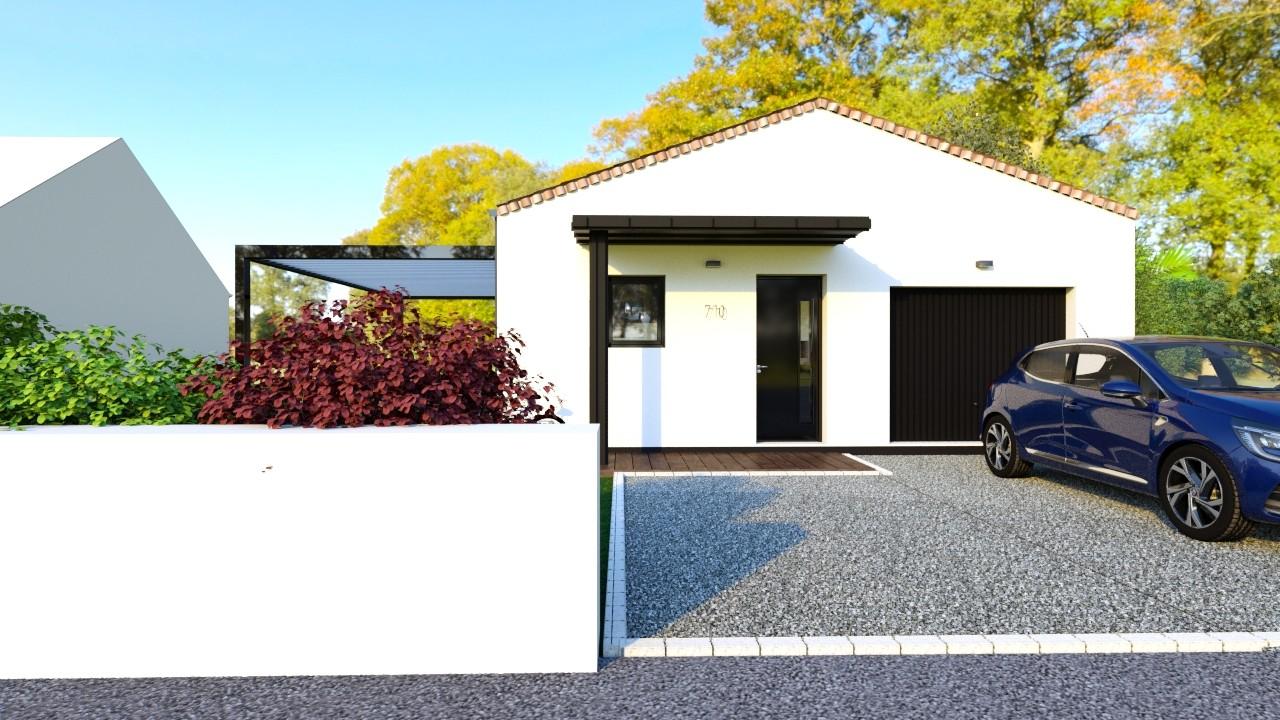 Maisons du constructeur MAISONS LOGELIS - AGENCE DE LA ROCHE SUR YON • 93 m² • TALMONT SAINT HILAIRE