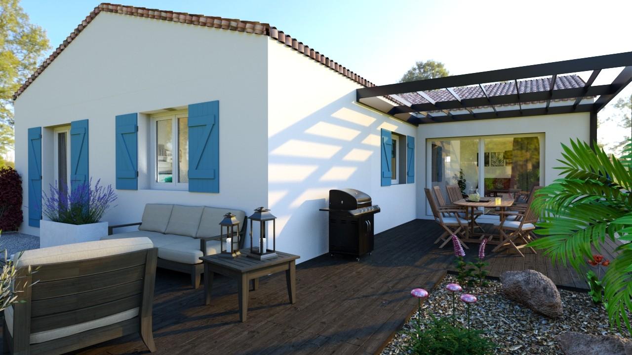 Maisons du constructeur MAISONS LOGELIS - AGENCE DE LA ROCHE SUR YON • 110 m² • LA TRANCHE SUR MER