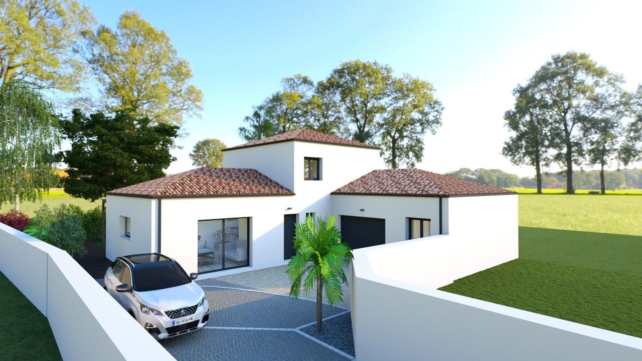 Maisons du constructeur MAISONS LOGELIS - AGENCE DE LA ROCHE SUR YON • 115 m² • LA TRANCHE SUR MER