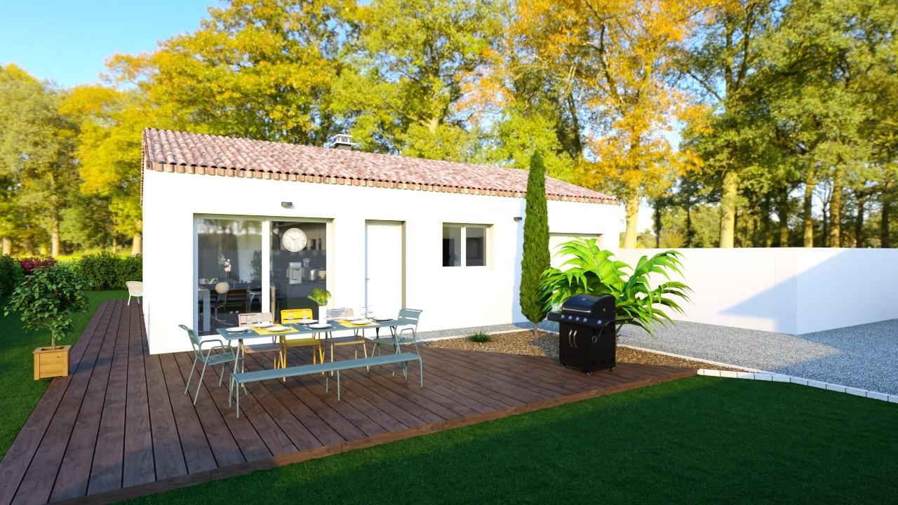 Maisons du constructeur MAISONS LOGELIS - AGENCE DE LA ROCHE SUR YON • 93 m² • LA TRANCHE SUR MER