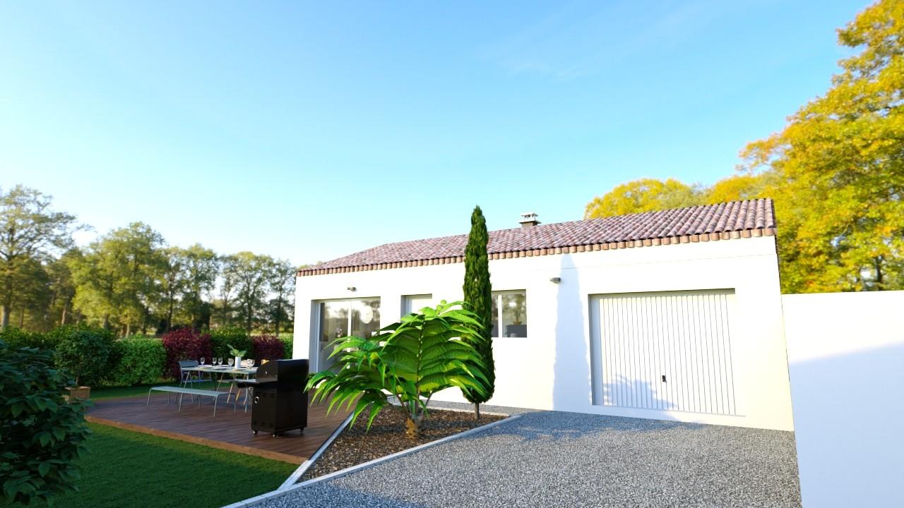 Maisons du constructeur MAISONS LOGELIS - AGENCE DE LA ROCHE SUR YON • 93 m² • JARD SUR MER
