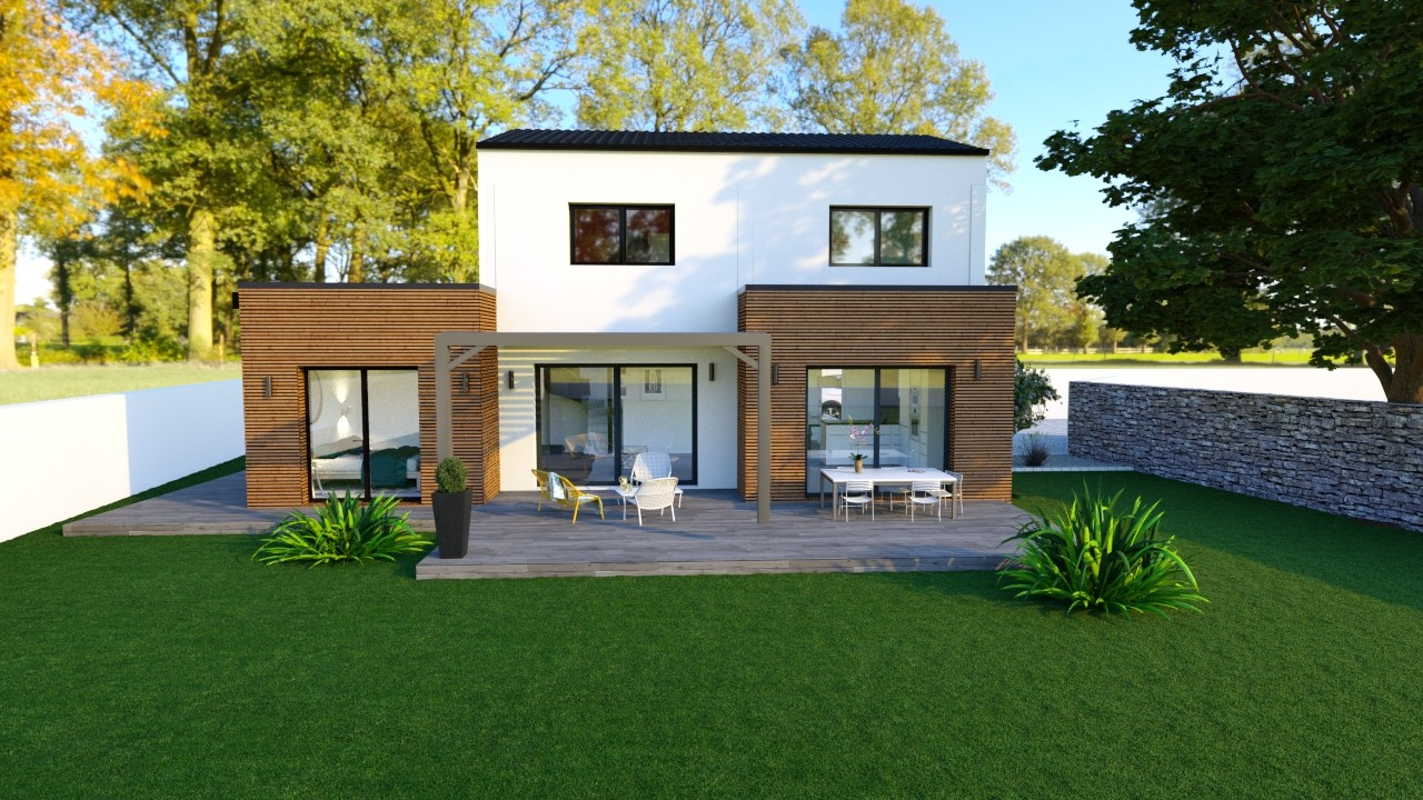 Maisons du constructeur MAISONS LOGELIS - AGENCE DE LA ROCHE SUR YON • 135 m² • DOMPIERRE SUR YON