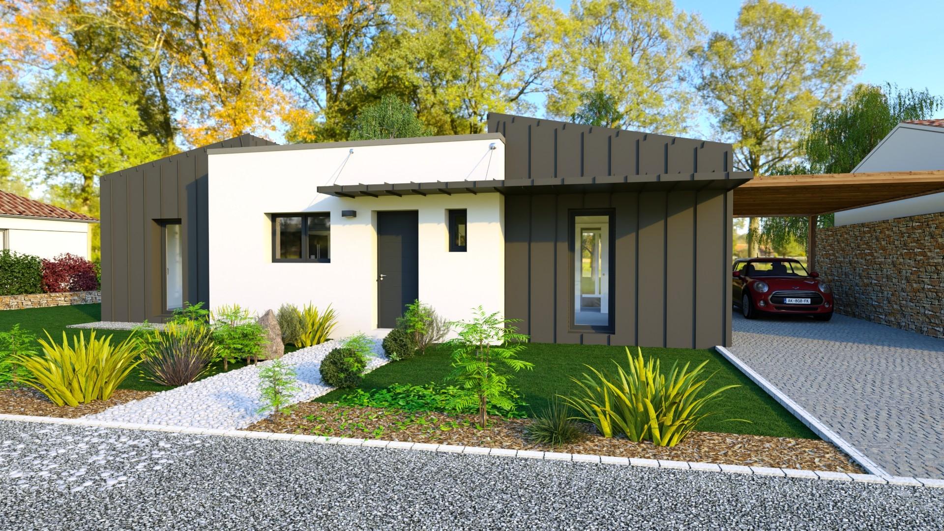 Maisons du constructeur MAISONS LOGELIS - AGENCE DE LA ROCHE SUR YON • 100 m² • AIZENAY
