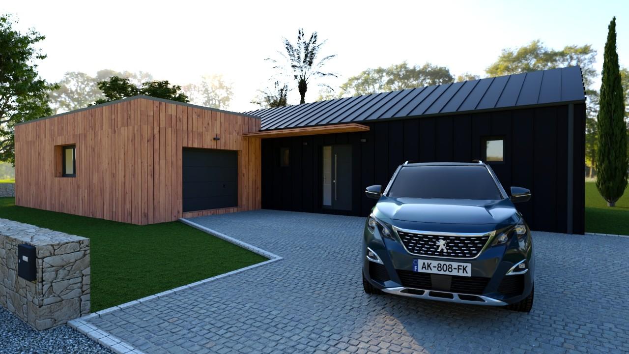 Maisons du constructeur MAISONS LOGELIS - AGENCE DE LA ROCHE SUR YON • 130 m² • LE POIRE SUR VIE