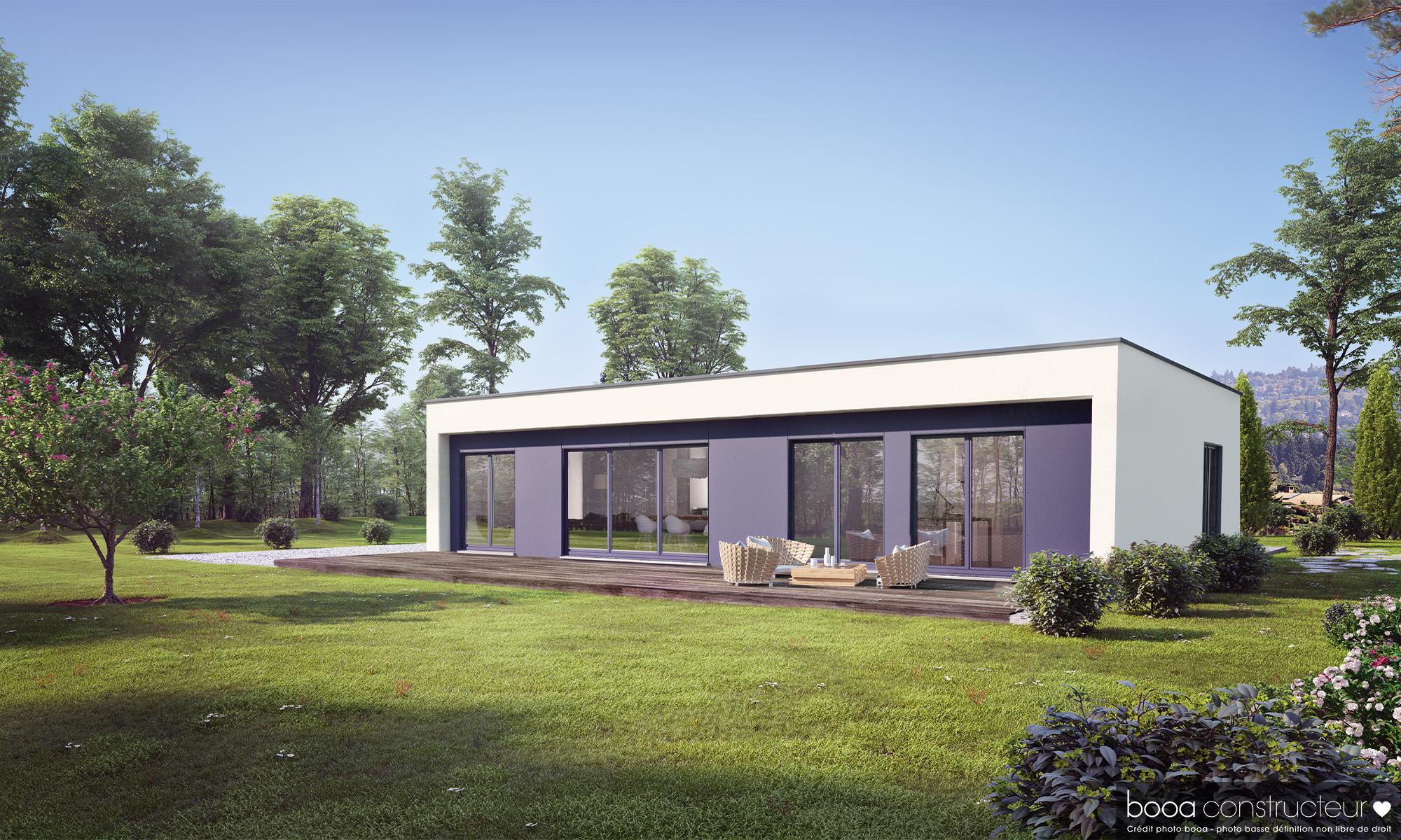 Maisons + Terrains du constructeur MAISONS BOOA - REIMS • 114 m² • MONTIGNY SUR VESLE