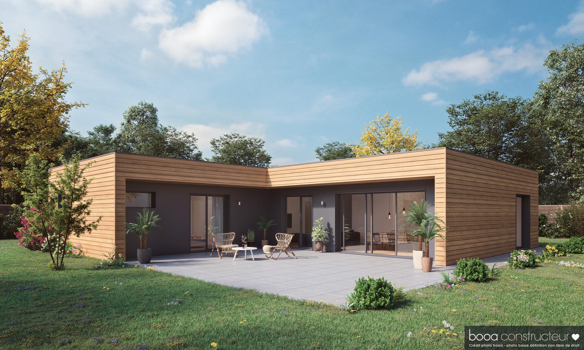 Maisons + Terrains du constructeur MAISONS BOOA - REIMS • 120 m² • POUILLON