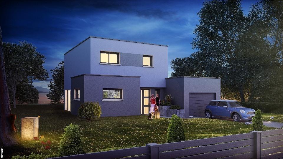 Maisons + Terrains du constructeur MAISONS NEO - MULHOUSE • 98 m² • BOLLWILLER