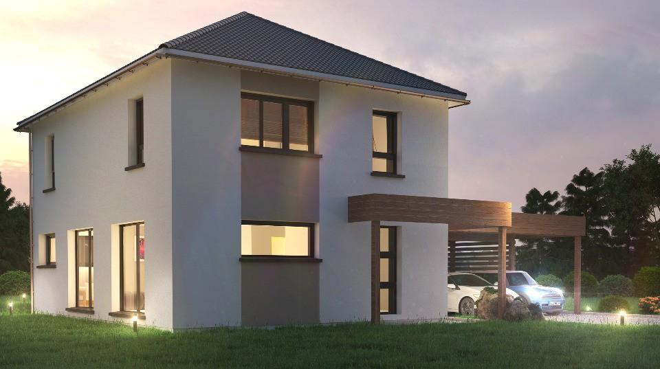 Maisons + Terrains du constructeur MAISONS NEO - MULHOUSE • 119 m² • MORSCHWILLER LE BAS