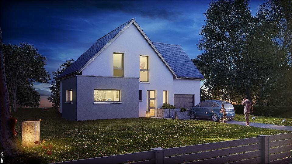 Maisons + Terrains du constructeur MAISONS NEO - MULHOUSE • 124 m² • UNGERSHEIM